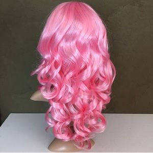 Pink Wig - Great for halloween!